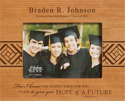 """Image Graduate's Personalized 5"""" x 7"""" Picture Frame"""