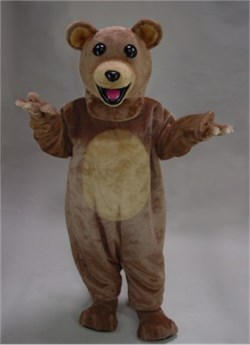 """Ralph"" Teddy Bear Mascot Costume"