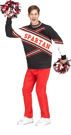 Cheerleader | Costume | Deluxe | Men