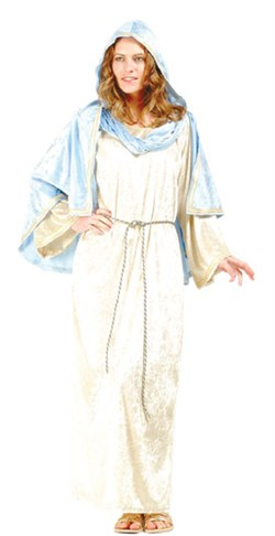 Adult Velvet Virgin Mary Costume