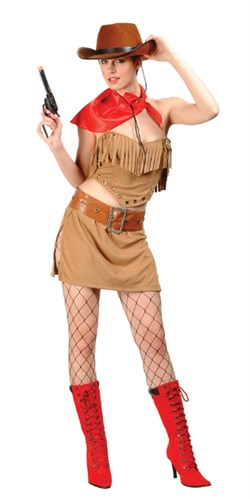 Cowgirl   Costume   Adult   Wild   West