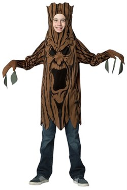 Tween Scary Tree Costume