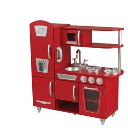 KidKraft Red Vintage Toy Kitchen