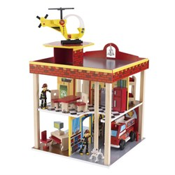 Kidkraft Toy Fire Station Set