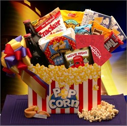 Movie Night Mania  Gift Box with 10.00 Redbox Gift Card