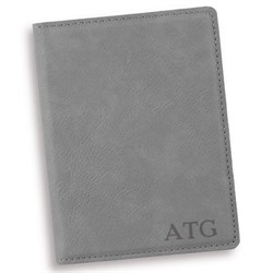 Personalize | Passport | Holder | Gray