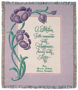 Personalize   Tapestry   Mother   Purple
