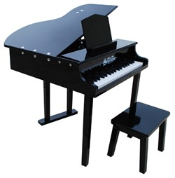 Schoenhut Toy Piano Concert Grand Piano and Matching Bench