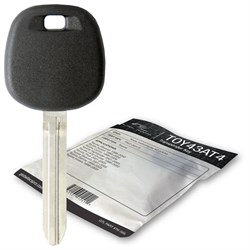 2001 Toyota Land Cruiser transponder key blank